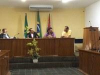 Secretário de Saúde participa de Sessão Ordinária