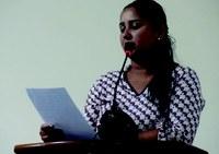 Vereadora Daia utiliza Tribuna de Honra para explanar suas ações